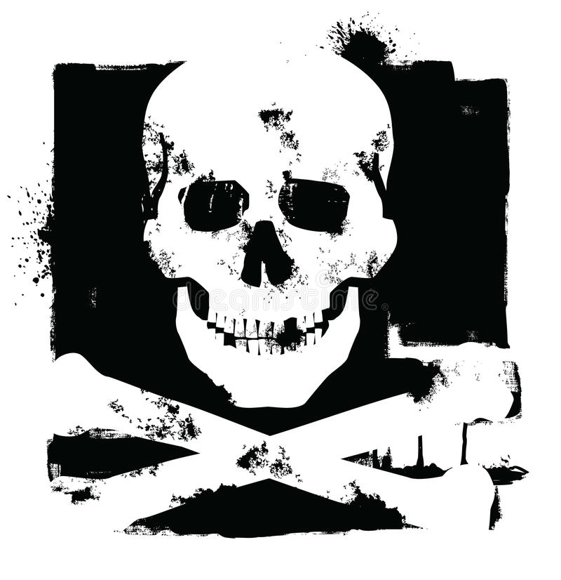 Download Skull icon stock vector. Image of icon, element, crossbones - 28918549