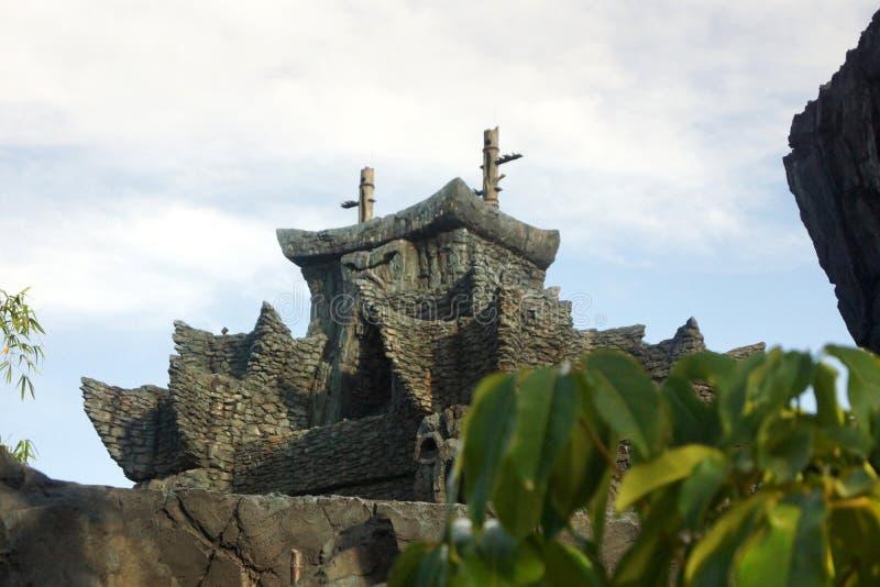Skull Island królowanie Kong obrazy royalty free