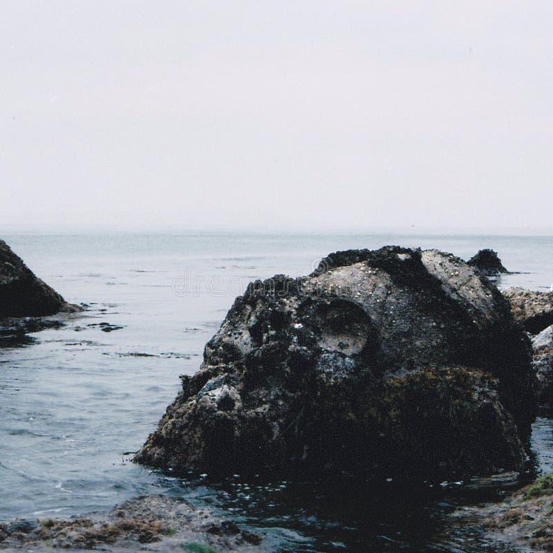 Skull island stock photo