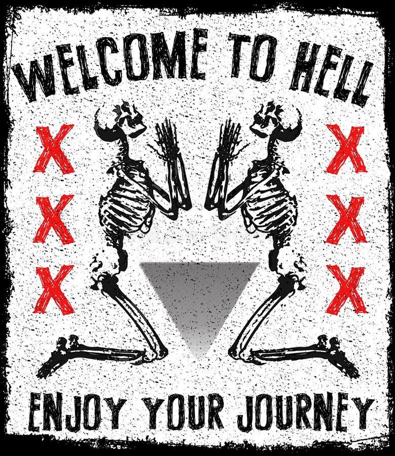 Skull Tee Graphic Design Stock Illustration Image 66678520