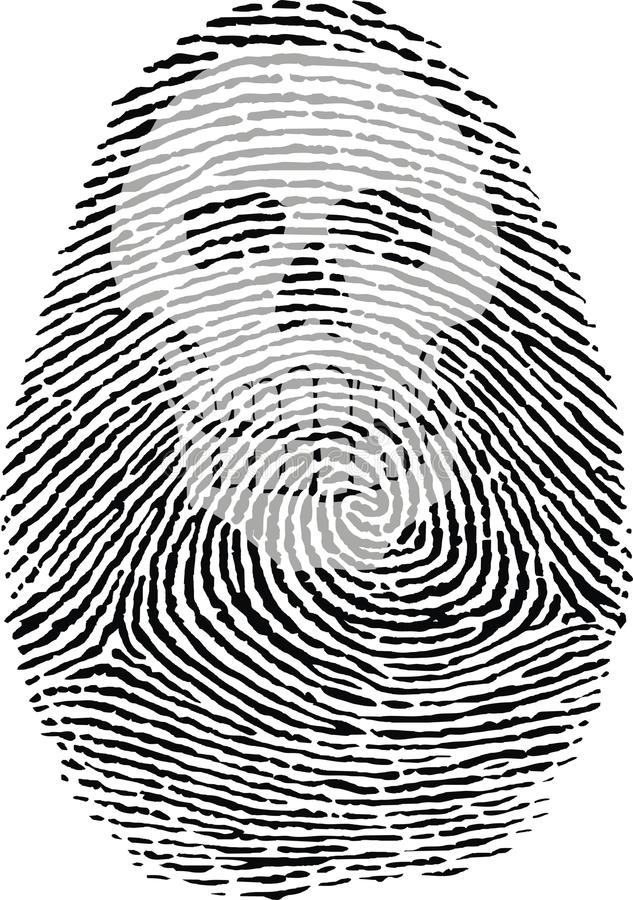 Free Skull Thumbprint Stock Photography - 31377652