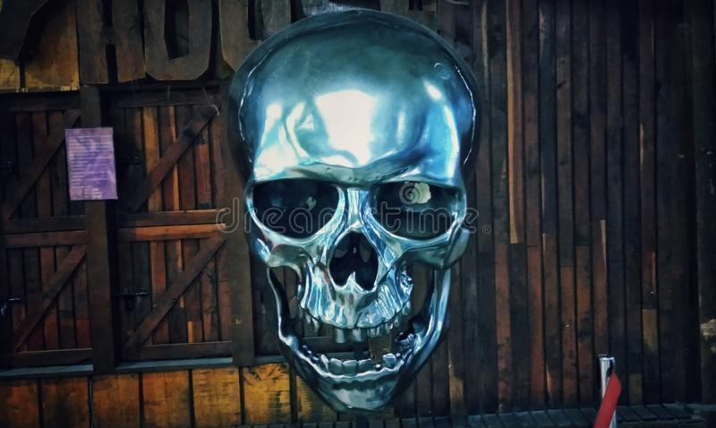 Skullmetal стоковая фотография
