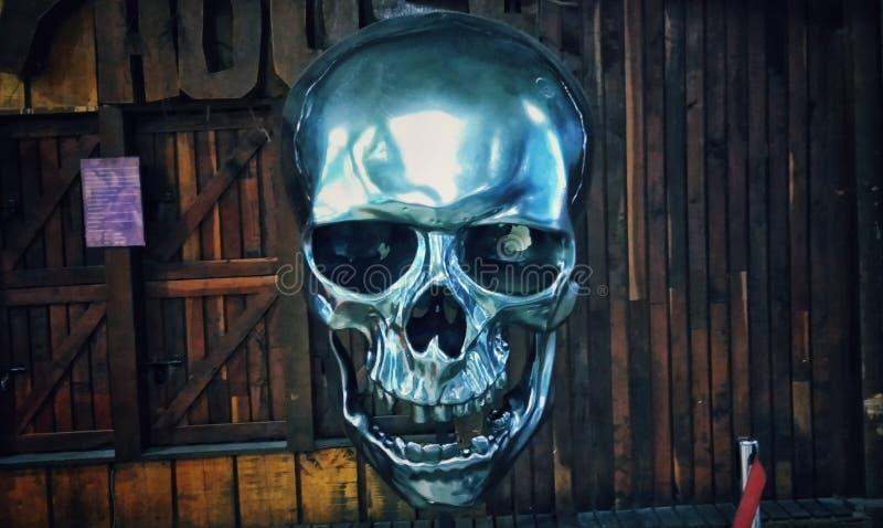 Skullmetal fotografia stock