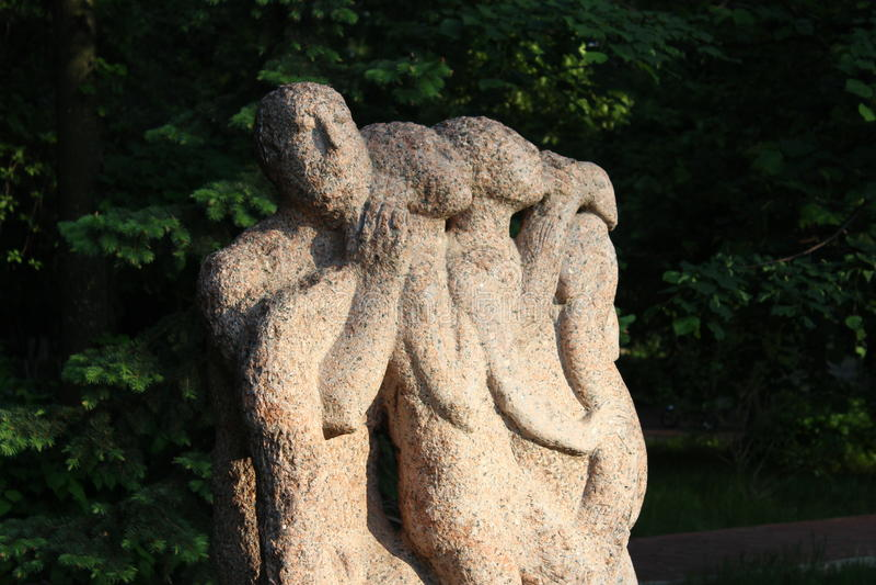skulptur arkivbild