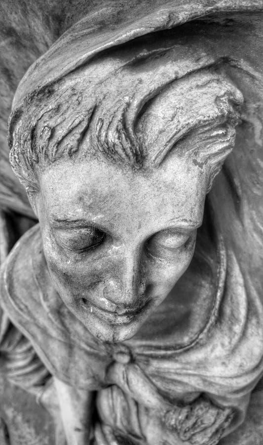 Skulptur auf 5. Allee stockfotos