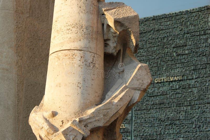 Skulptur av Kristus royaltyfri foto