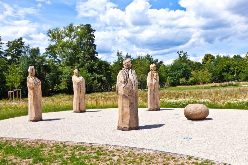 Skulptur DAS Versprechen vorbei lizenzfreie stockbilder