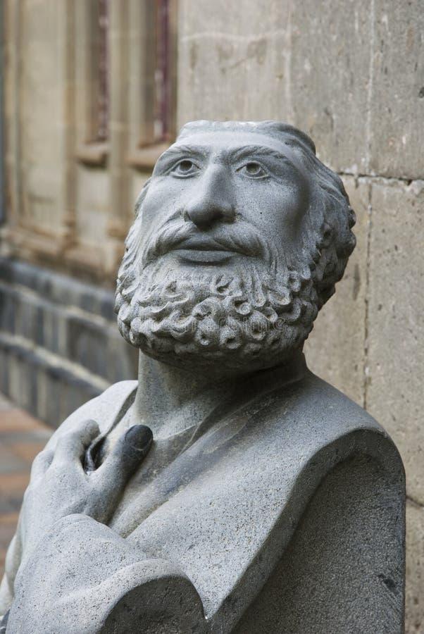 Skulptur in Echmiadzin, Armenien lizenzfreies stockfoto