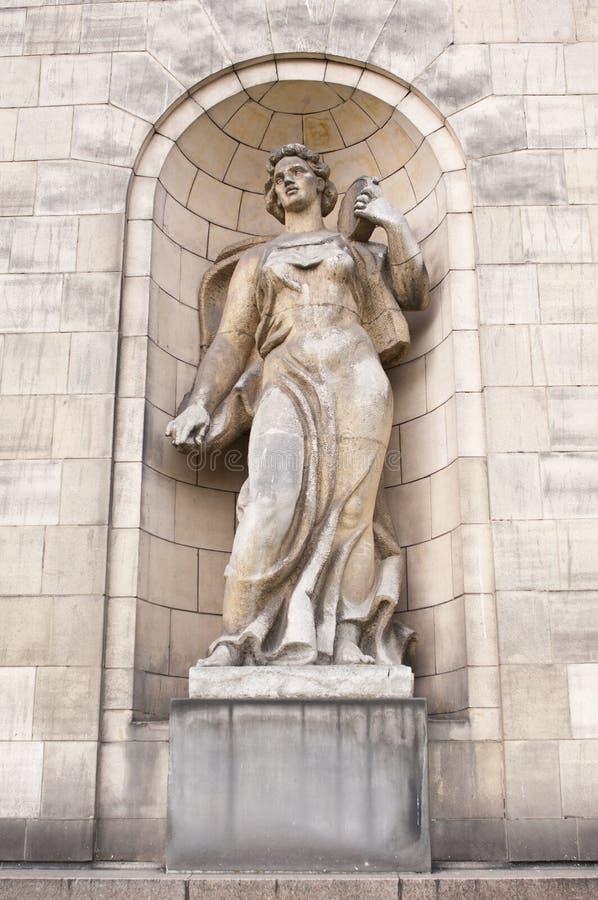 Skulptur från slotten av kulturen arkivbilder