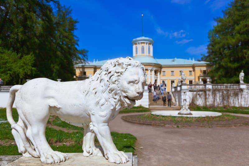 Skulptur im Museum-Zustand Arkhangelskoye - Moskau Russland lizenzfreies stockfoto