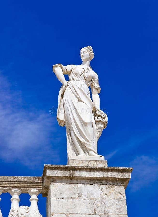 Skulptur im Museum-Zustand Arkhangelskoye - Moskau Russland lizenzfreies stockbild