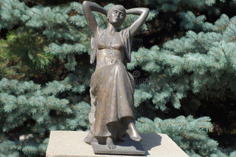 Skulptur im Muzeon Art Park stockfoto