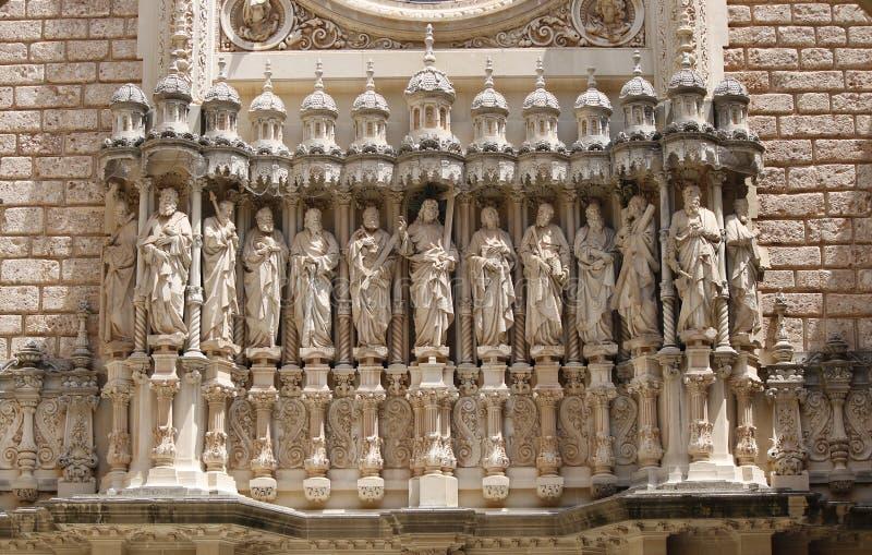 Skulptur mit zwölf Aposteln lizenzfreies stockbild
