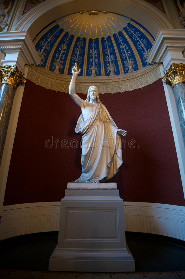 Skulptur von Christus lizenzfreies stockbild