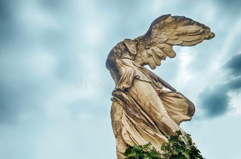 Skulptur von Nike lizenzfreies stockfoto