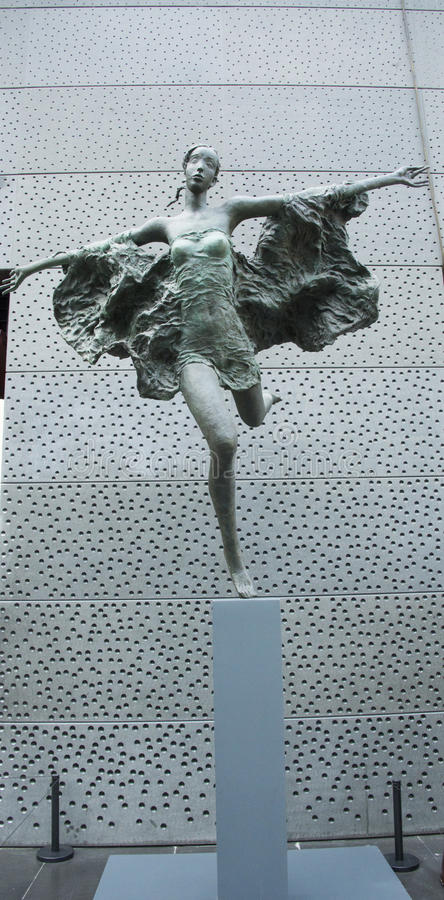 Skulptur, Wind lizenzfreie stockbilder