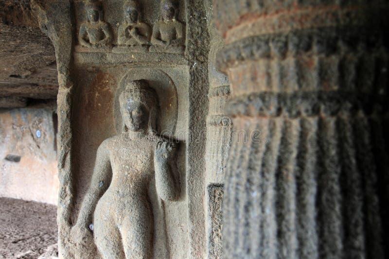 Skulpturen von Buddha stockfotografie