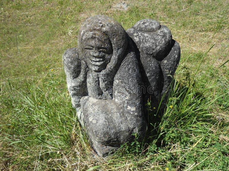 Skulpturkvinnor royaltyfria foton