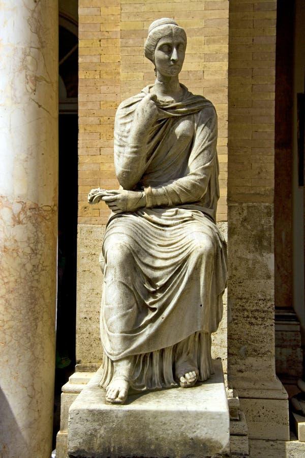 Skulpturmuseum Vatikans Italien Rom stockbilder