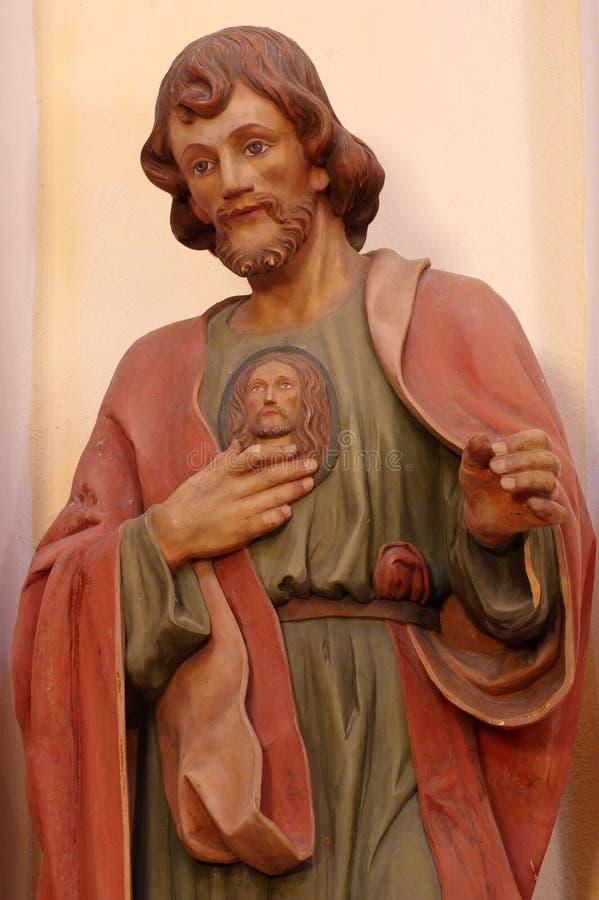 Skulpturreligionsmann stockbilder