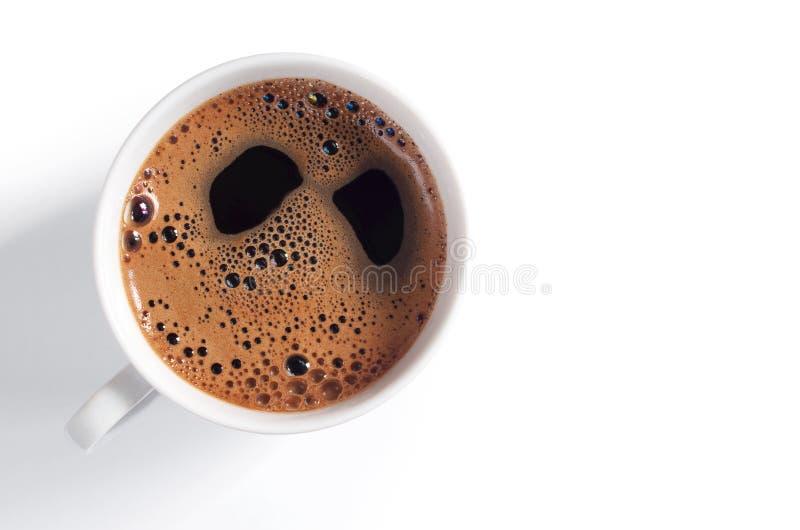 skum för kaffekopp fotografering för bildbyråer