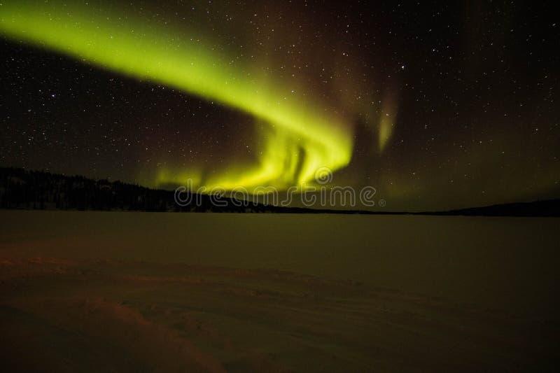 Sky's de la aurora imagenes de archivo