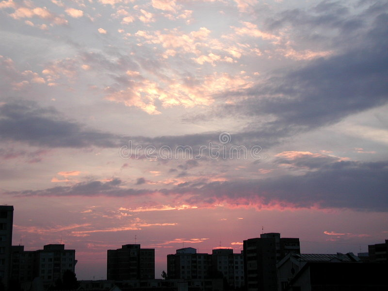 Download Sky stock photo. Image of appartments, flat, dusk, cyan, limits - 312