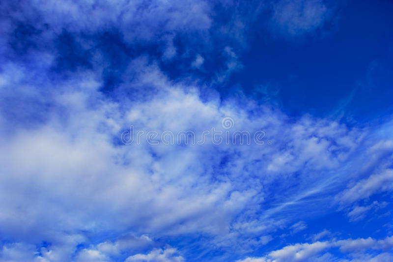 Only sky royalty free stock photos