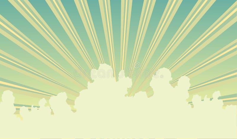 Sky stock illustration