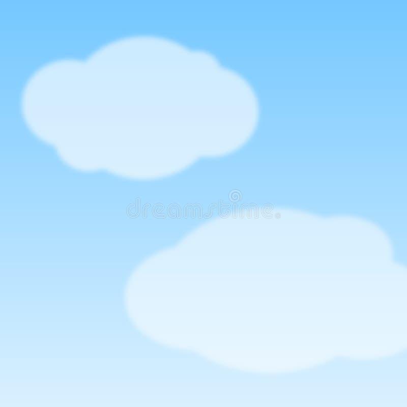 sky royaltyfri illustrationer