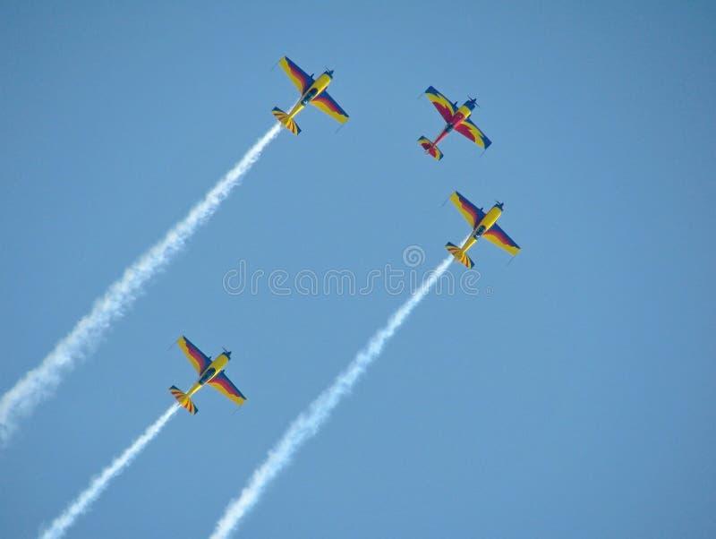 Sky, Aerobatics, Air Show, General Aviation stock image
