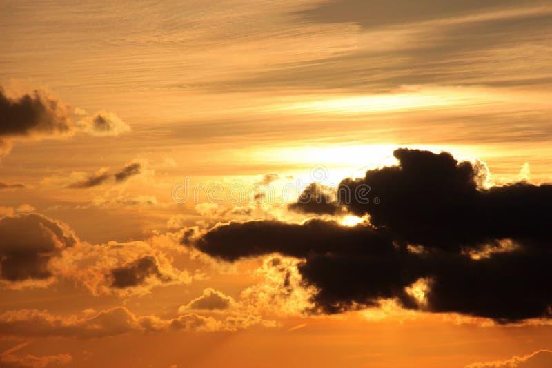 Sky, Afterglow, Cloud, Sunset stock image