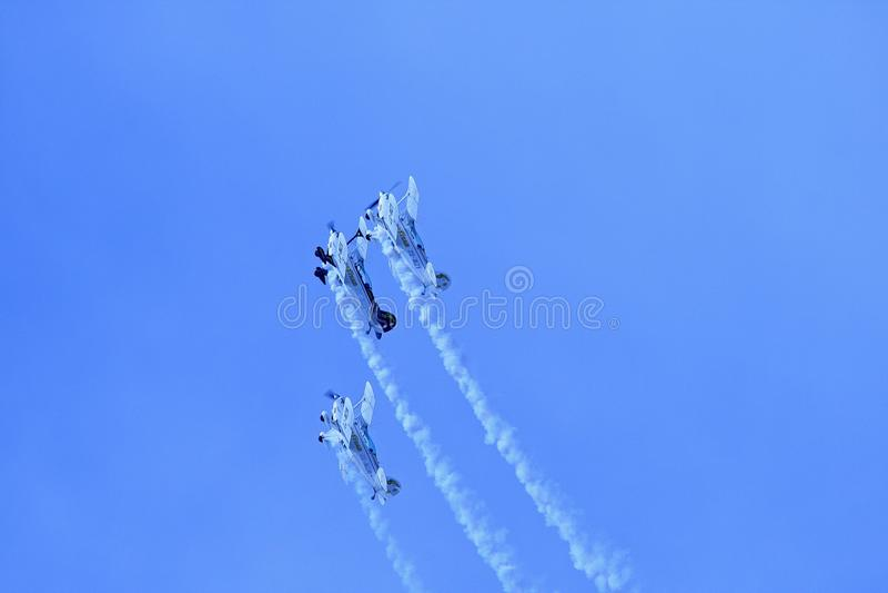 Sky, Air Show, Aerobatics, Aviation stock image