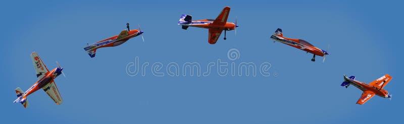 Sky, Air Sports, Parachuting, Air Show royalty free stock photos
