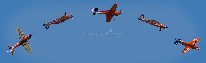 Sky, Air Sports, Air Show, Parachuting royalty free stock photo