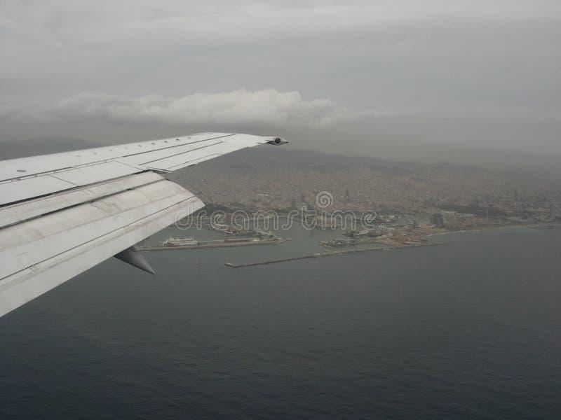 Sky, Airplane, Flight, Air Travel stock image
