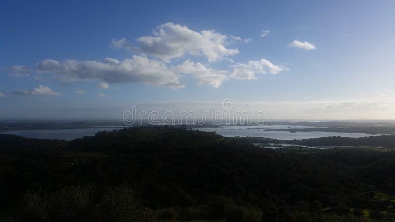 Sky in Alentejo royalty free stock image