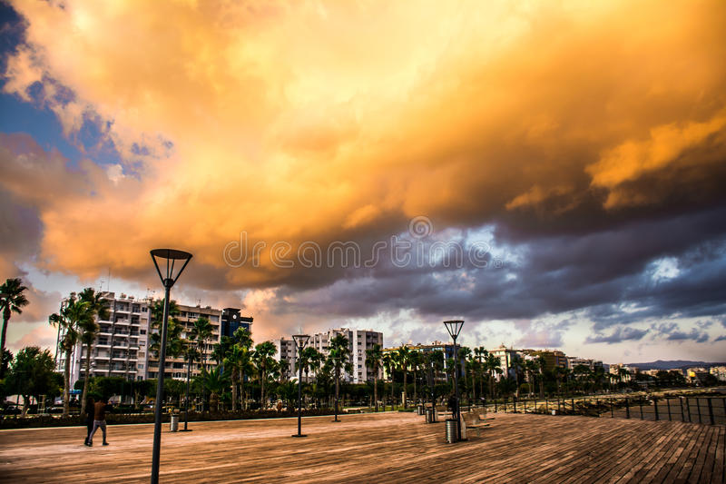 sky is angry royalty free stock photo