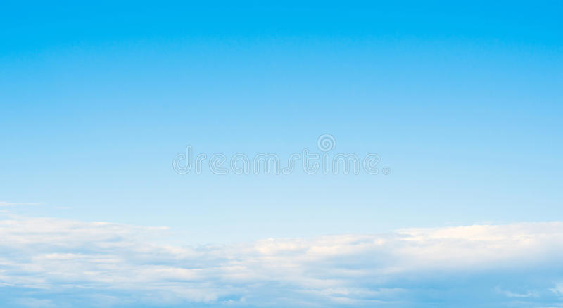 Sky atmosphere clear clouds royalty free stock photography