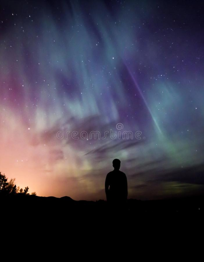 Sky, Aurora, Nature, Atmosphere stock photography