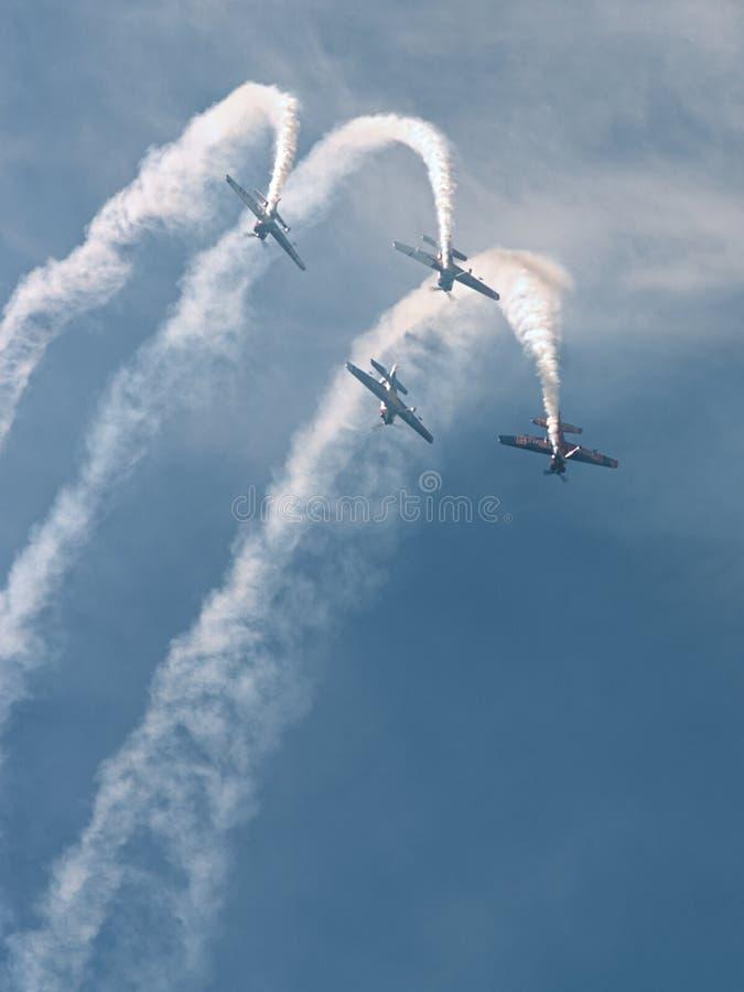 Sky, Aviation, Air Show, Cloud royalty free stock photo