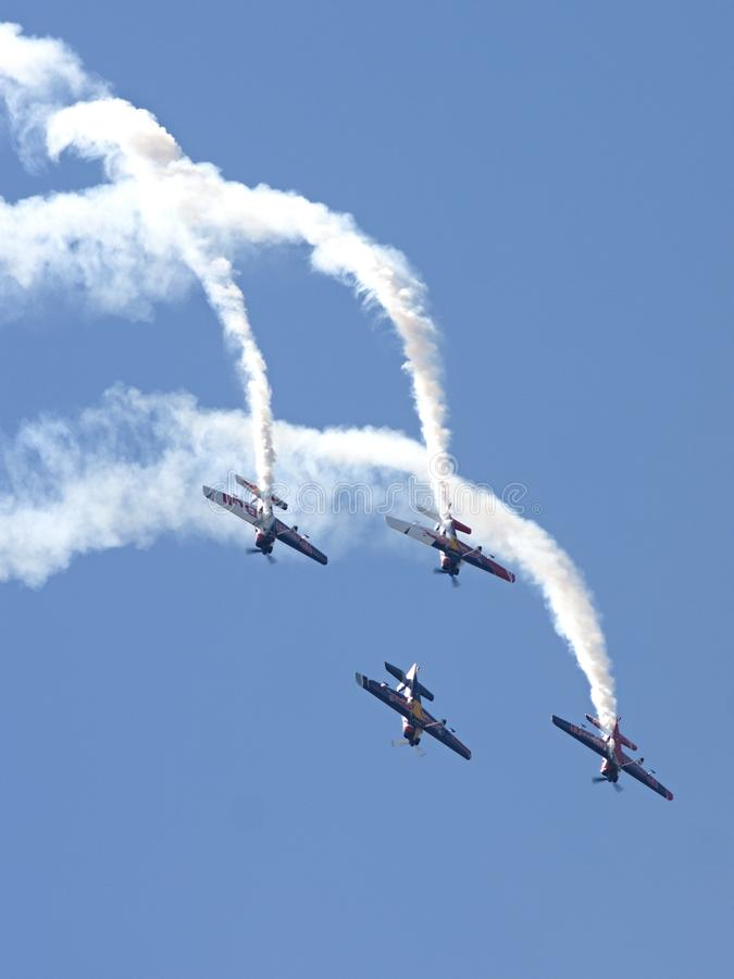 Sky, Aviation, Flight, Air Show stock photography