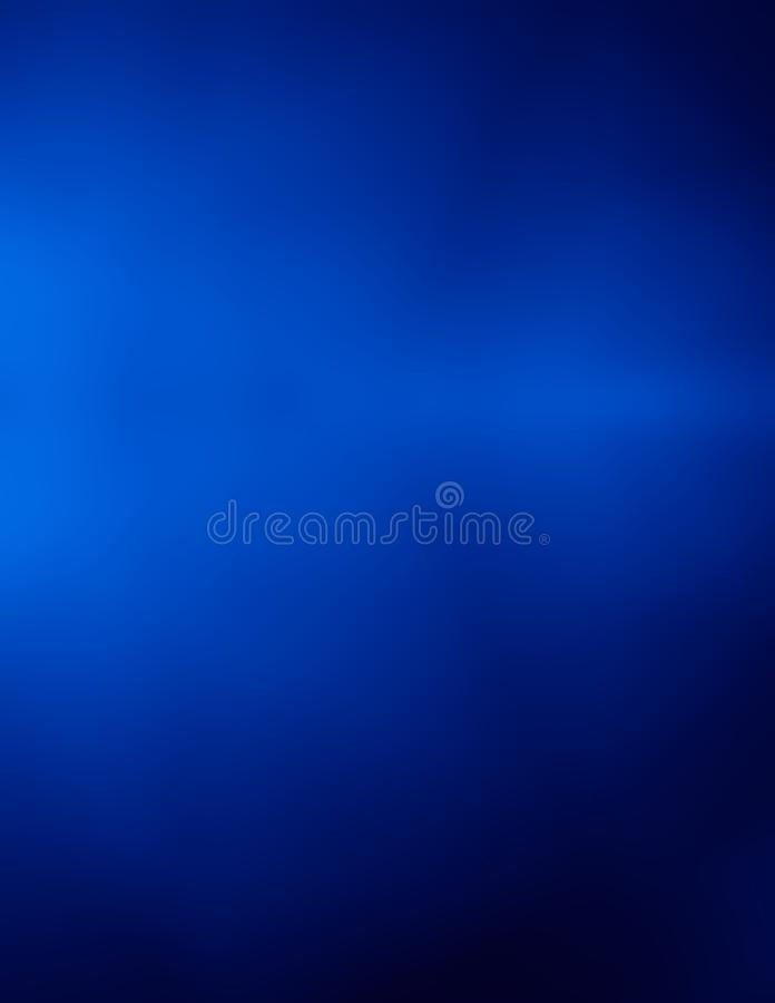 Background dark blue depth simple backdrop royalty free illustration