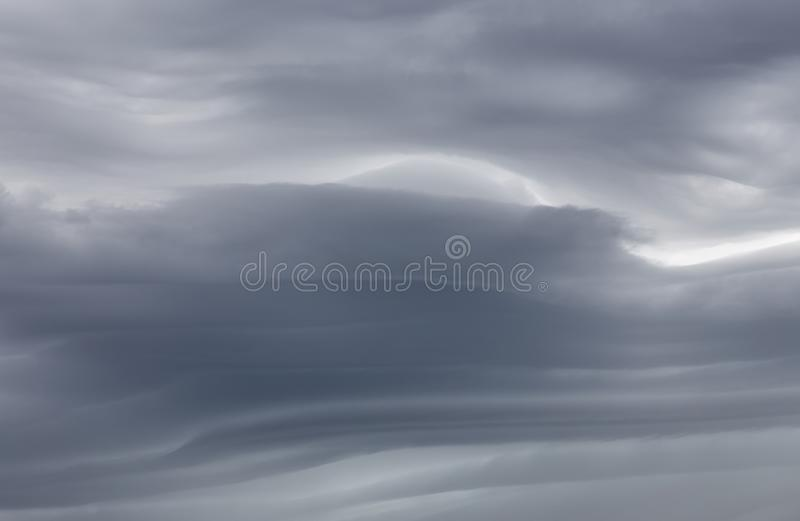 Sky background with storm clouds. Sky background with dramatic dark clouds. Sky texture photo with storm clouds royalty free stock photo