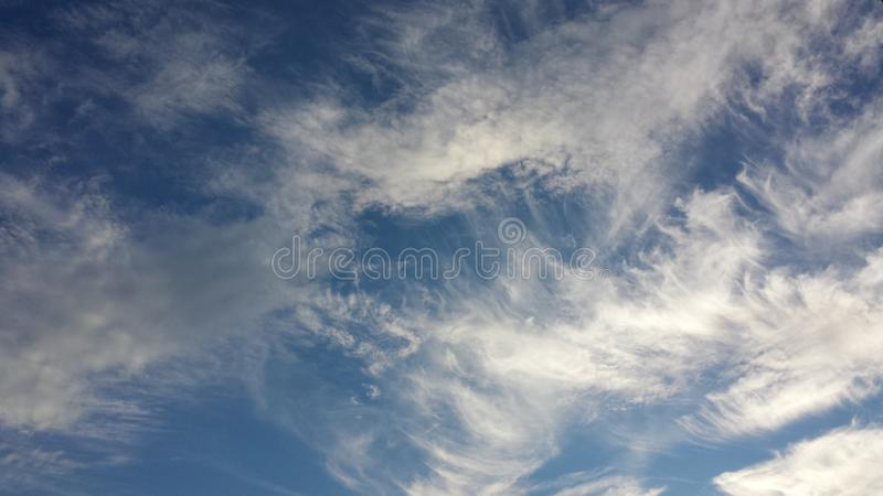 Sky and beautiful clouds. Skybackground,Красивое небо и облака, Blue Sky and beautiful pattern from stock images