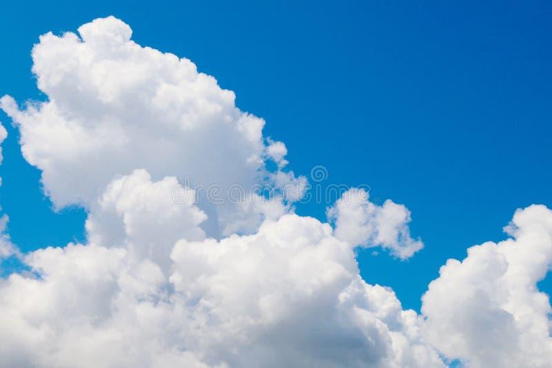 Sky, Big cloud on sky, Beautiful sky blue background stock photography
