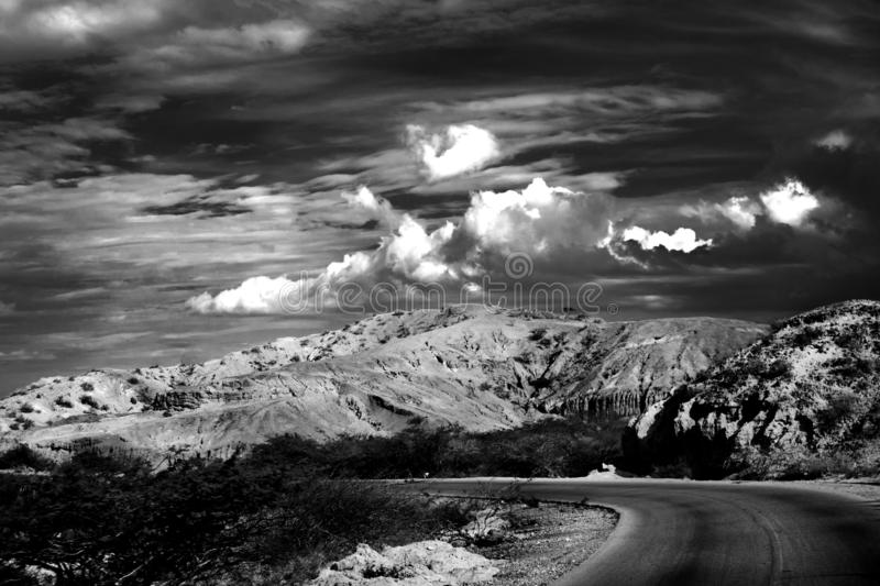 Sky, Black And White, Cloud, Nature Free Public Domain Cc0 Image