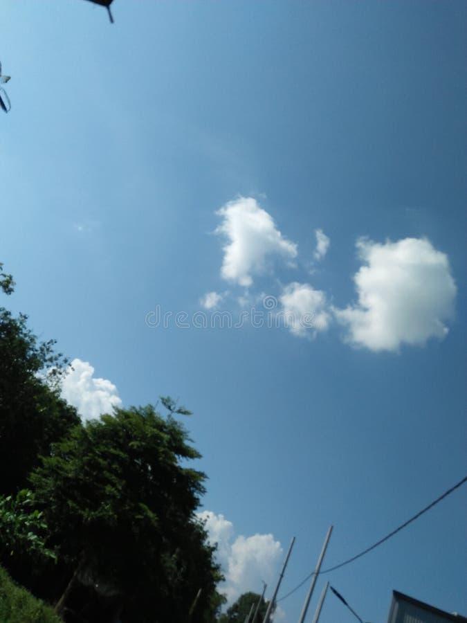 Sky blue amazing shoot myanmar royalty free stock image