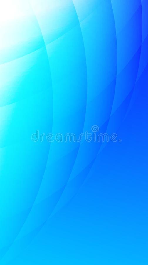 Sky Blue curve with lighting effect Wallpaper. Sky Blue curve pattern. for website background, wallpaper, screen sever, book cover, screen printing vector illustration