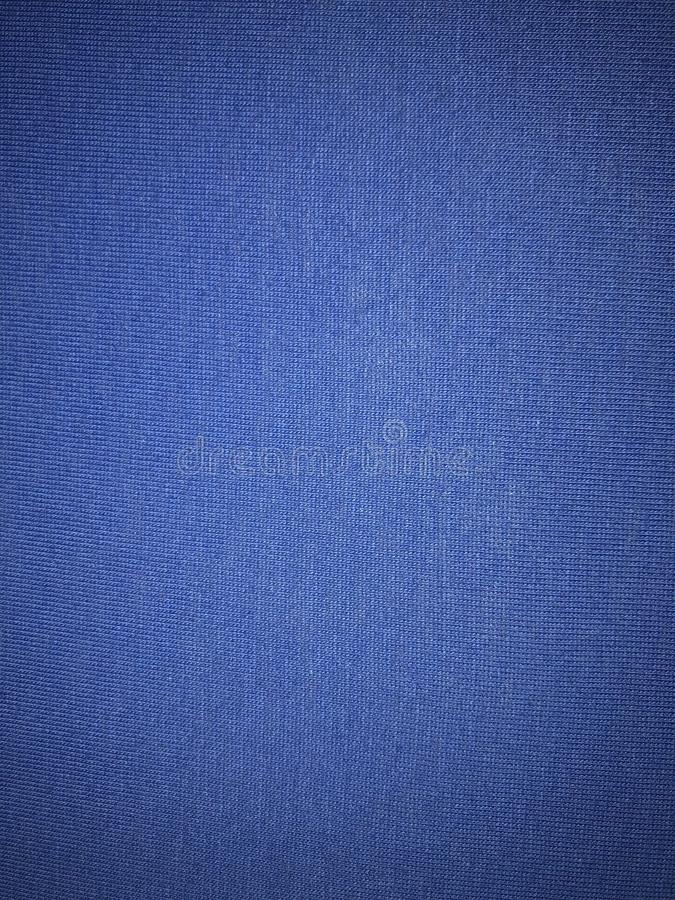 Sky blue fabric surface stock image